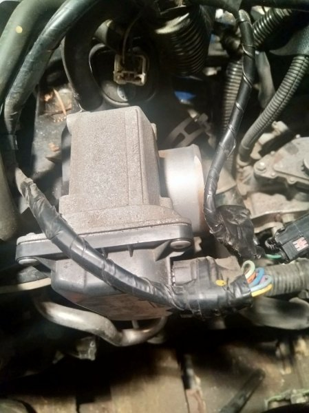Заслонка дроссельная Mazda Axela BL5FW ZY-VE 2011 электро, ZJ3813640
