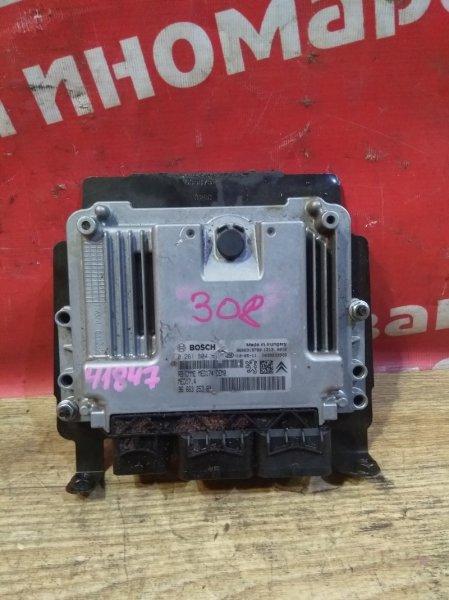 Блок управления efi Peugeot 308 EP6CDT 2010 9666325380