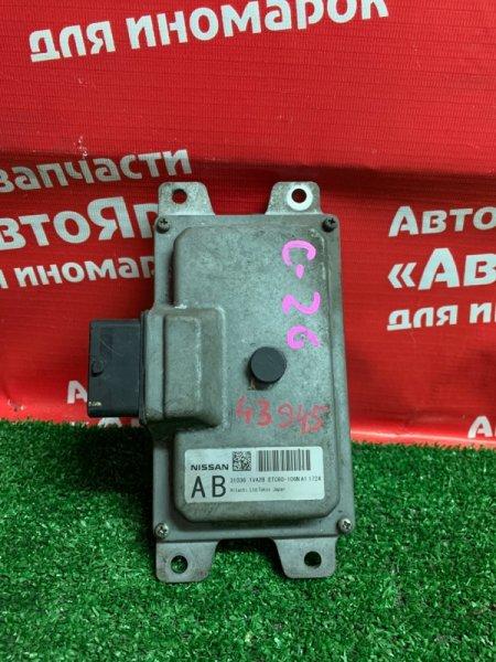 Блок переключения кпп Nissan Serena C26 MR20DD 08.2011 310361VA2B / ETC60-106NA1 1724