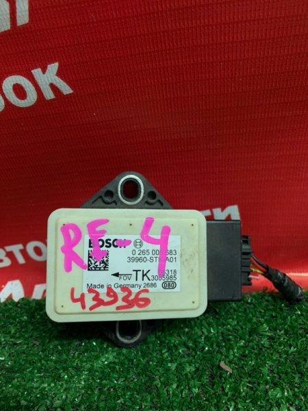 Датчик ускорения Honda Cr-V RE4 K24A 2006 39960-STK-A01 , BOSCH 0265005683