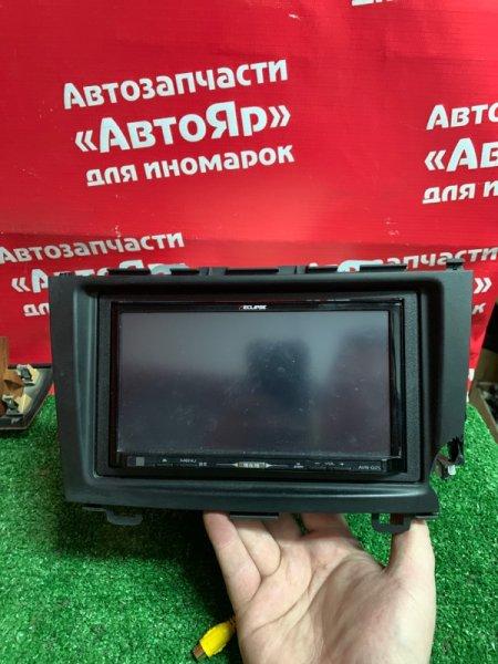 Магнитола Honda Cr-V RE4 K24A 2006 ECLIPSE AVN-G05 + рамка (дефект на фото )