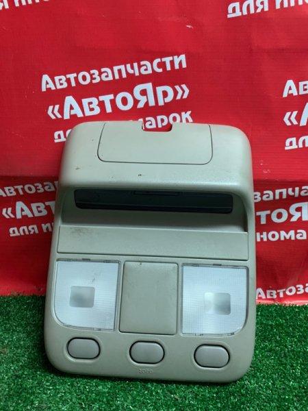 Плафон салона Nissan Elgrand ATWE50 ZD30DDTI 10.1999 +дисплей 28520-VE010