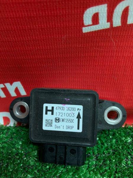 Датчик ускорения Nissan Serena C26 MR20DD 08.2011 47930JG200
