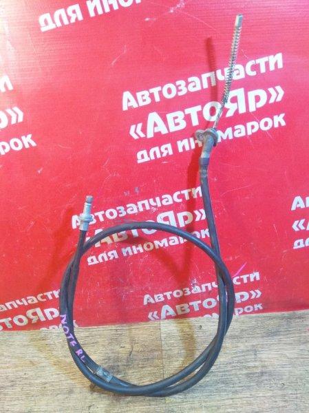 Тросик ручника Nissan Note E11 HR15DE 2008.03 задний левый
