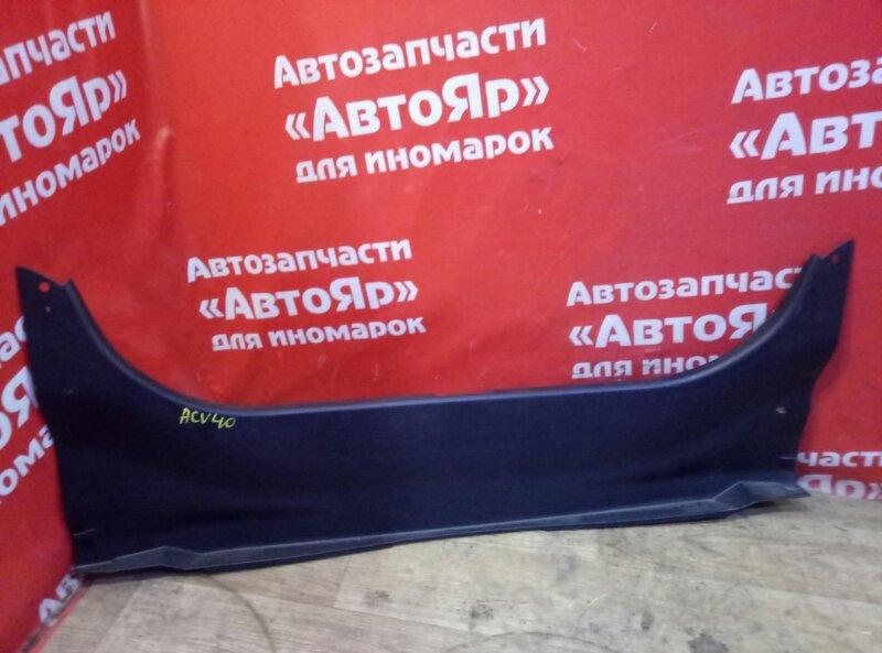 Накладка багажника Toyota Camry ACV40 2AZ-FE 08.2006 58387-33090