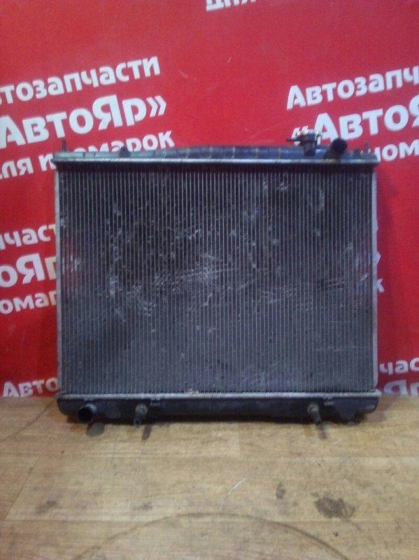 Радиатор основной Nissan Elgrand ATWE50 ZD30DDTI 10.1999 без крышки