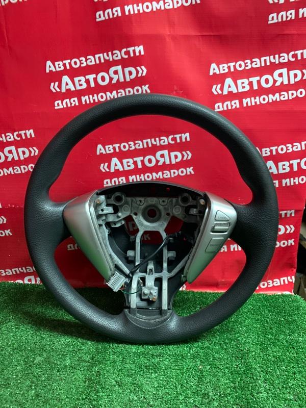 Руль Nissan Serena C26 MR20DD 08.2011 мультируль, цена без аирбага