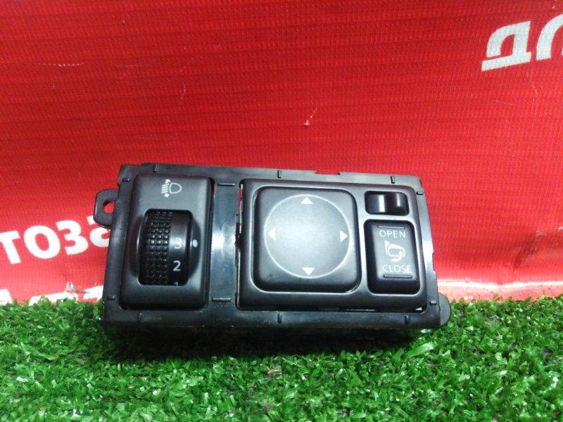 Блок управления зеркалами Nissan Serena C26 MR20DD 08.2011 +корректор фар