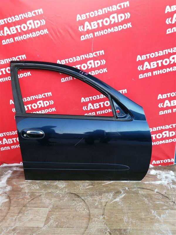 Стекло боковое Nissan Bluebird Sylphy FG10 QG15DE 01.2002 переднее правое
