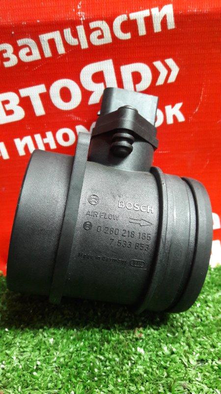 Расходомер воздушный Bmw 320I E90 N46B20B 08.2007 0280218165, 5 контактов.