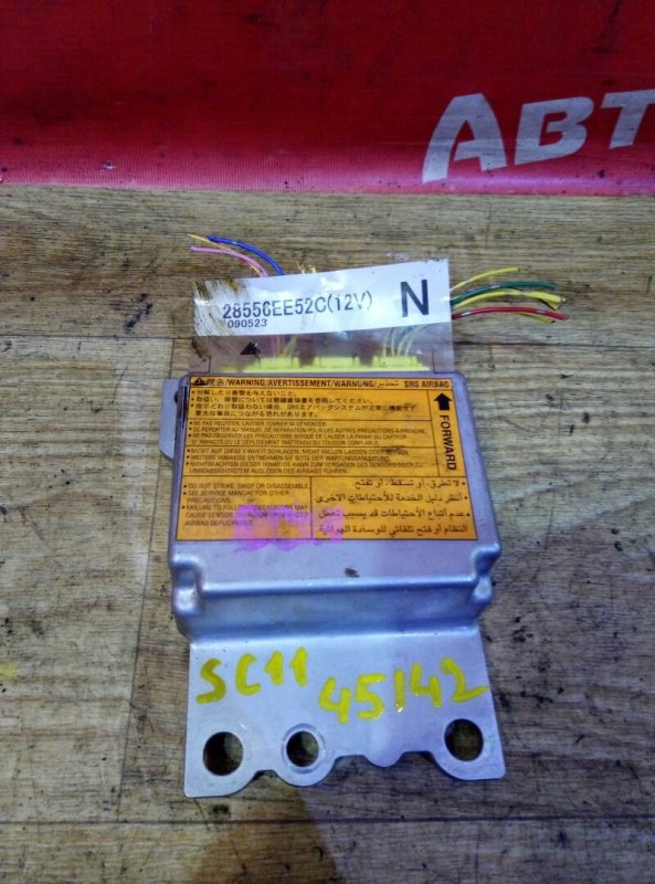 Блок управления airbag Nissan Tiida Latio SC11 HR15DE 05.2009 28556EE52C