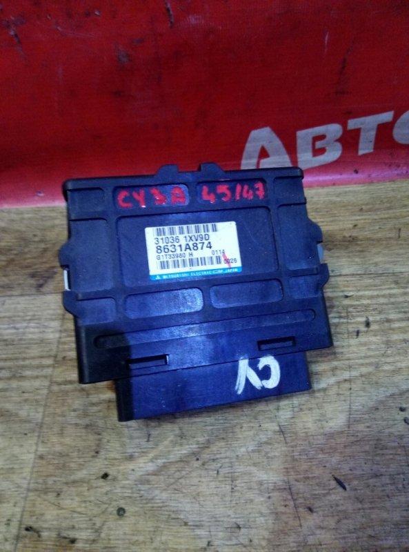 Блок переключения кпп Mitsubishi Lancer X CY3A 4B10 01.2010 8631A874