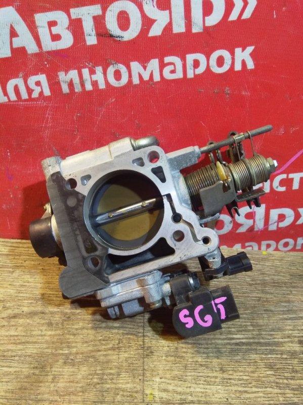 Заслонка дроссельная Subaru Forester SG5 EJ205 09.2005 механическая, 16114-AB580
