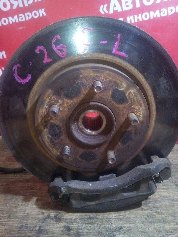 Диск тормозной Nissan Serena C26 MR20DD 08.2011 передний левый