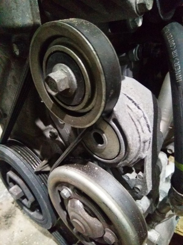 Ролик натяжной Honda Insight ZE2 LDA 2009 с натяжителем