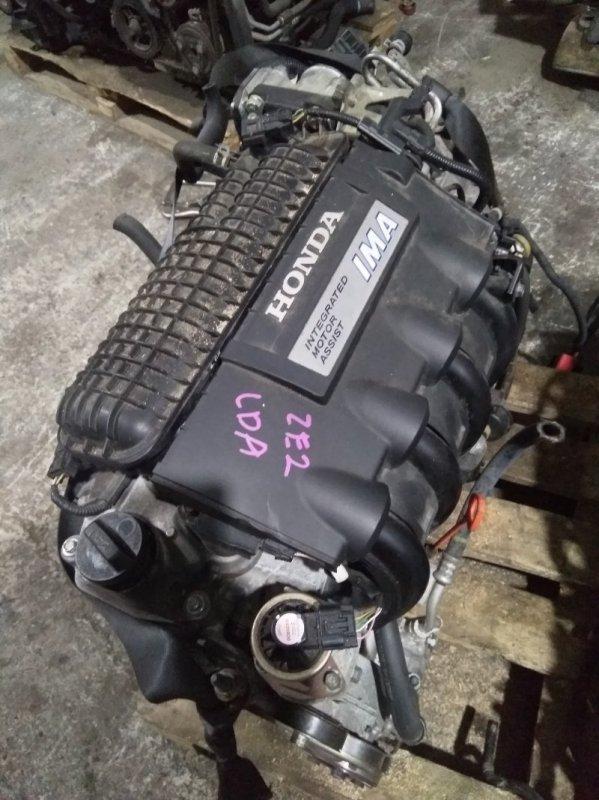 Двигатель Honda Insight ZE2 LDA 2009 цена указанна без навесного, 92т.км.