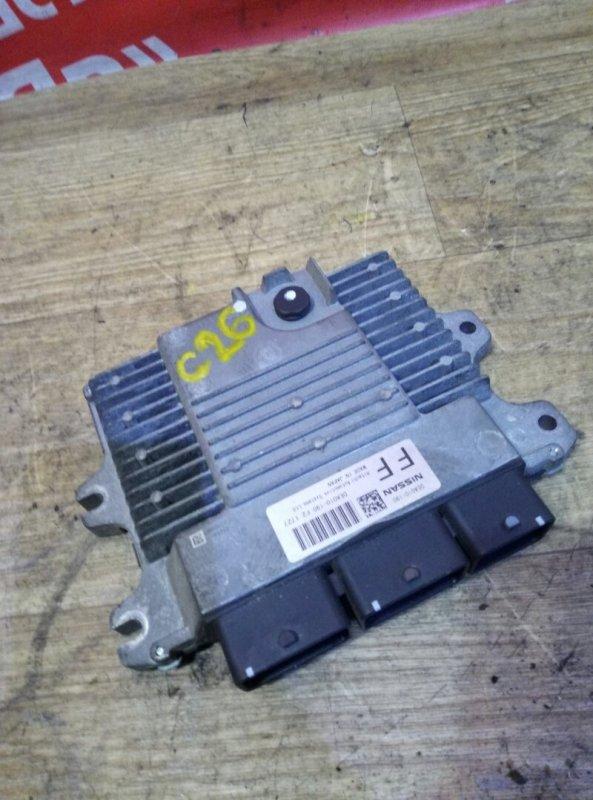 Блок управления efi Nissan Serena C26 MR20DD 08.2011 DEA010-190