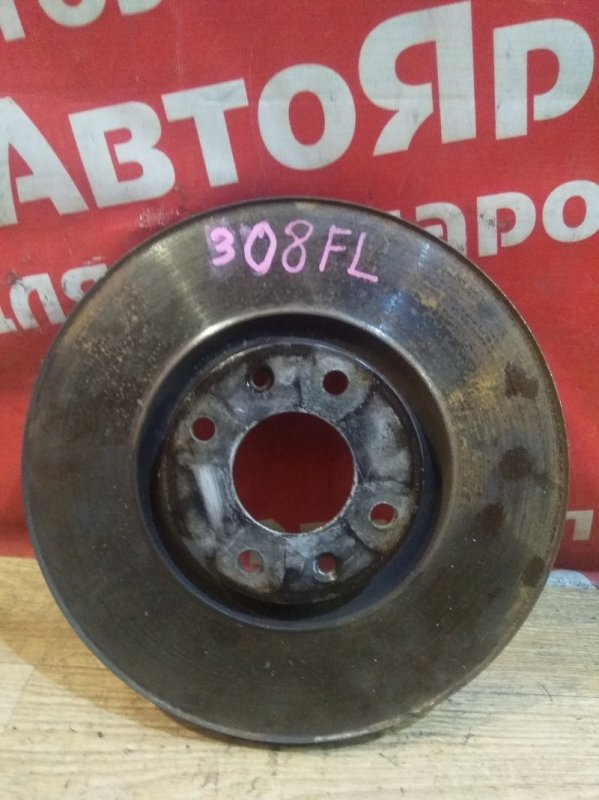 Диск тормозной Peugeot 308 EP6CDT 2010 передний левый 4249.80 . диаметр 302мм, под проточку кромки.