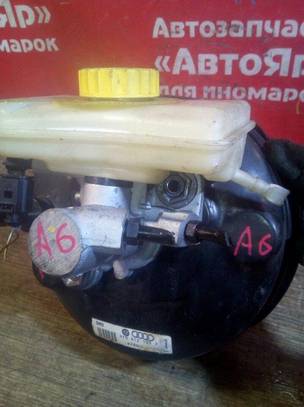 Главный тормозной цилиндр Audi A6 4F2 AUK 2005 2шп, цена без вакуумника