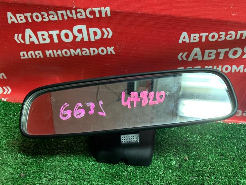 Зеркало салонное Mazda Atenza GG3S L3-VE 10.2006