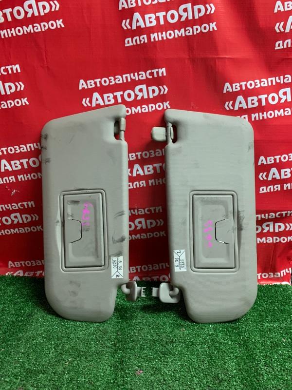 Солнцезащитный козырек Mazda Atenza GG3S L3-VE 10.2006 2шт комплект