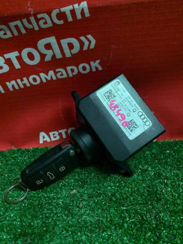 Замок зажигания Audi A6 4F2 AUK 2005 1 ключ / 4F0909131