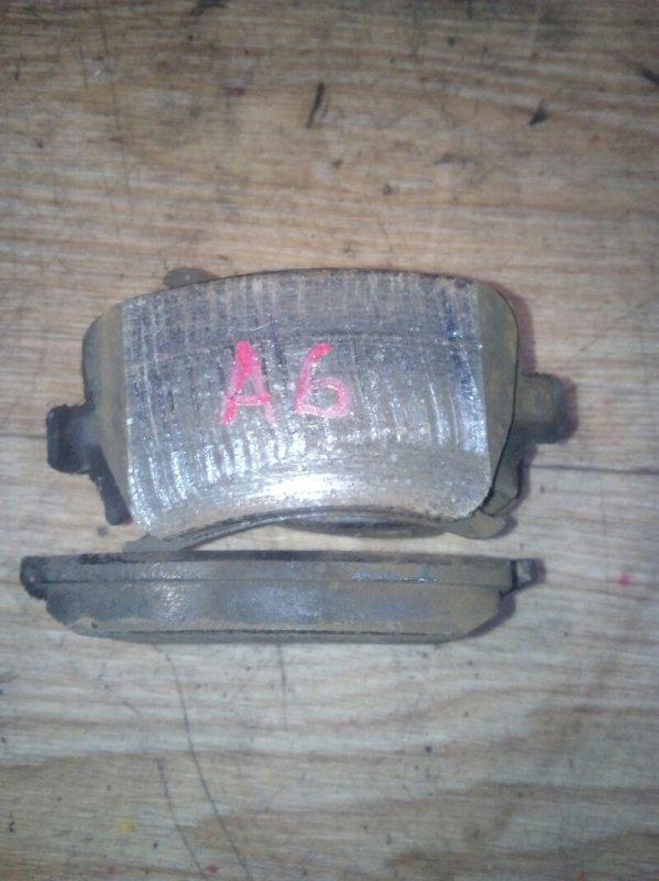 Тормозные колодки Audi A6 4F2 AUK 2005 заднее 4шт комплект