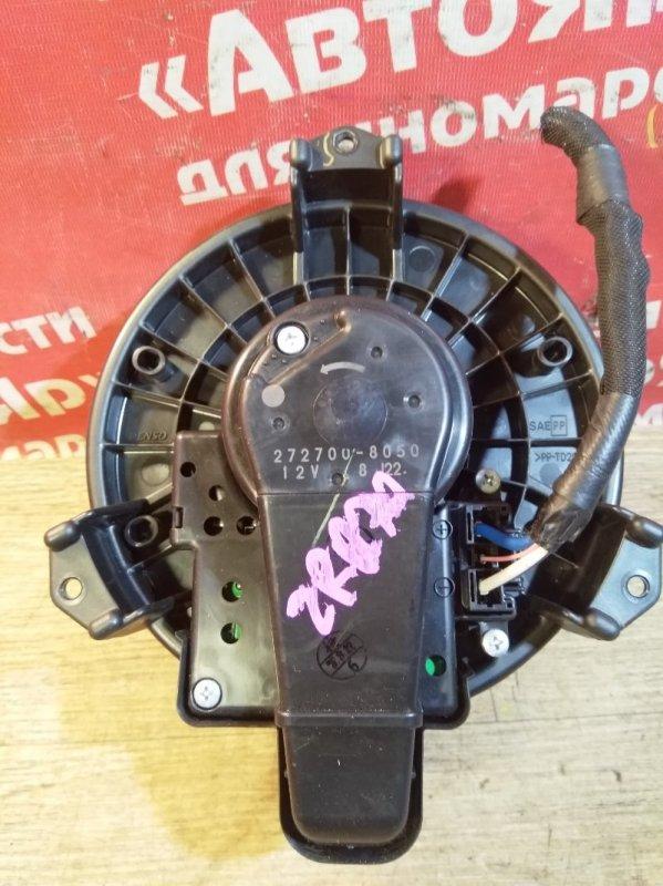 Вентилятор (мотор отопителя) Toyota Voxy ZRR70W 3ZR-FAE 08.2007 272700-8050 передний