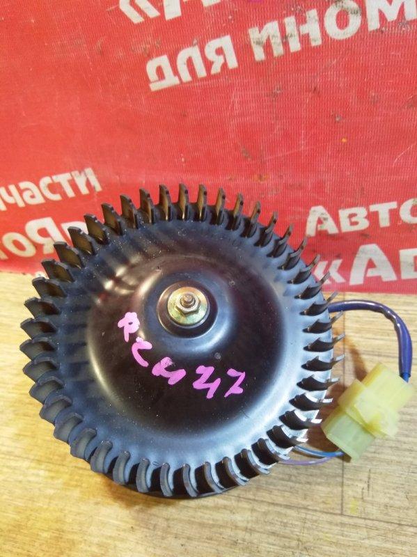 Вентилятор (мотор отопителя) Toyota Regius RCH47W 3RZ-FE 09.1999 Маленький, дефект крыльчатки.