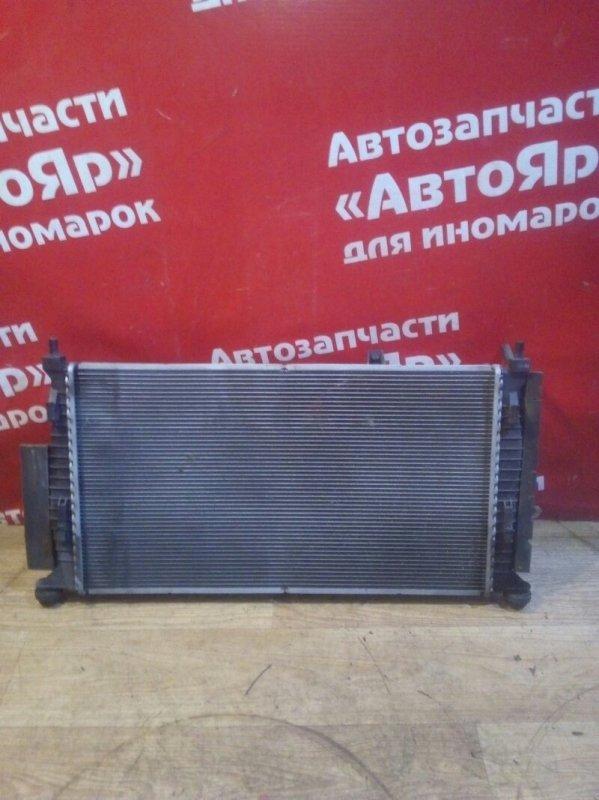 Радиатор основной Mazda Axela BL5FP ZY-VE 07.2010 С двумя диффузорами, АКПП.