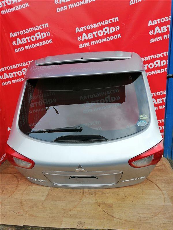 Дверь задняя Mitsubishi Lancer X CX4A 4B11 01.2009