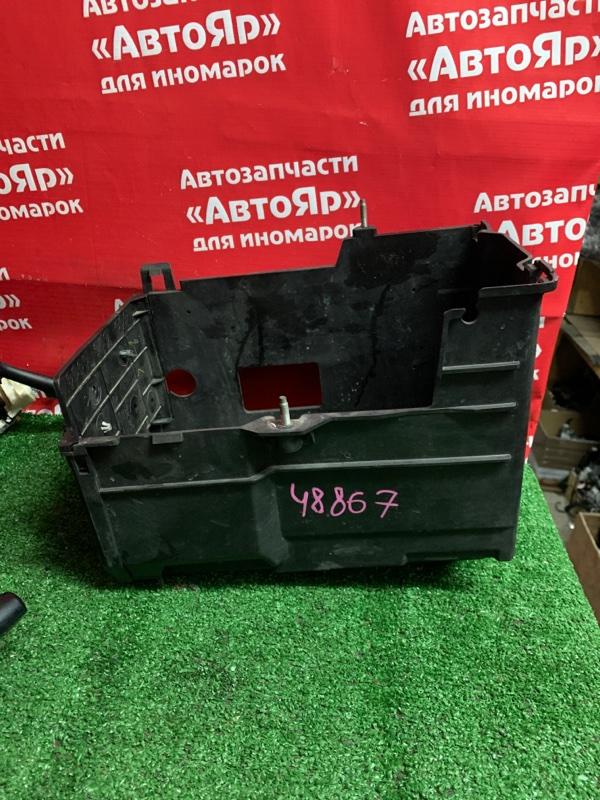 Полка под аккумулятор Mazda Axela BL5FP ZY-VE 07.2010 BCD356040. Дефект на фото