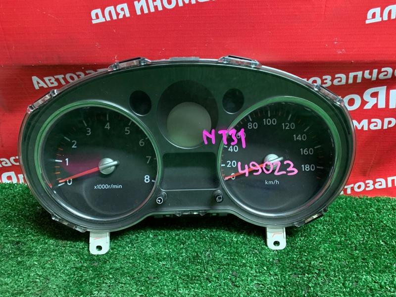 Комбинация приборов Nissan X-Trail NT31 MR20DE 03.2008 JG011/ZFXU