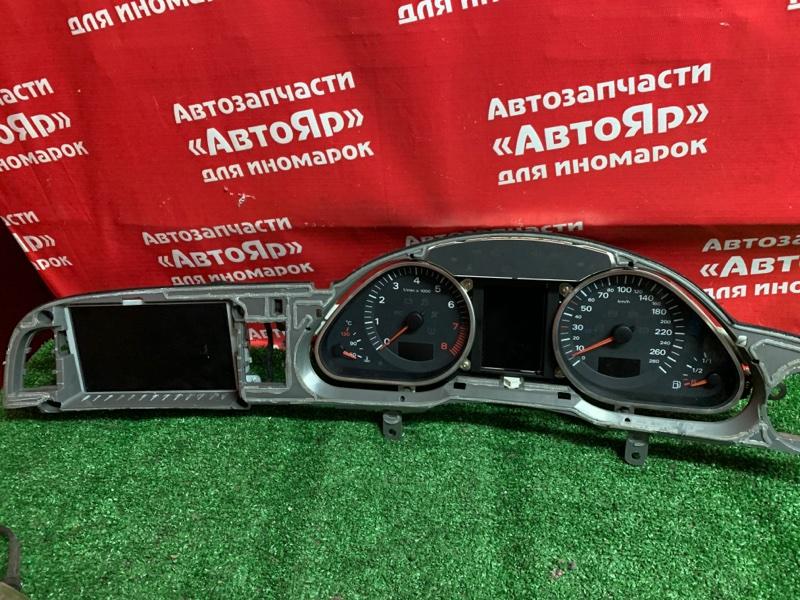 Комбинация приборов Audi A6 4F2 AUK 2005 Цена за приборную панель 4F0920900R + монитор 4F0919603A за