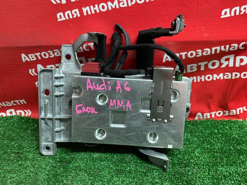 Блок управления Audi A6 4F2 AUK 2005 MMI 4F0910729D