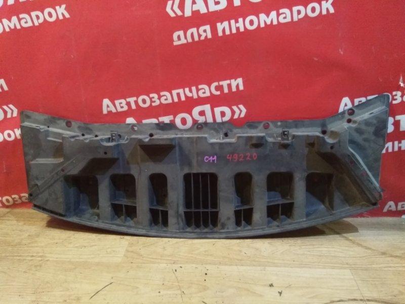 Защита двигателя Nissan Tiida C11 HR15DE 03.2009 под бампер