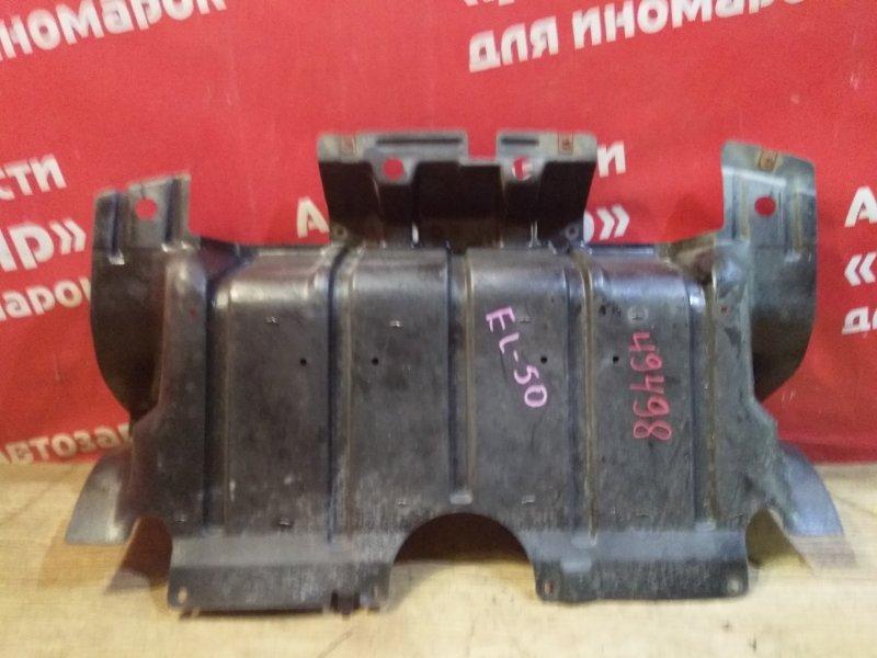 Защита двигателя Nissan Elgrand ATWE50 ZD30DDTI 10.1999 передняя 75892-VE000, цельная.Сломано ухо.