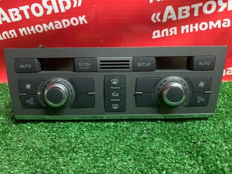 Блок управления климат-контролем Audi A6 4F2 AUK 2005 4f2820043 B