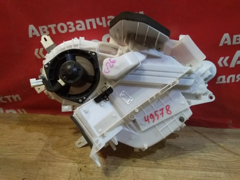 Корпус вентилятора отопителя Nissan Serena C26 MR20DD 08.2011 Дополнительная с вентилятором и