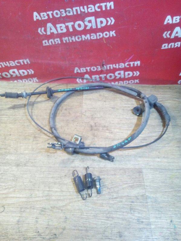 Тросик ручника Nissan Vanette SK82VN F8 06.2000 двойной односкатный