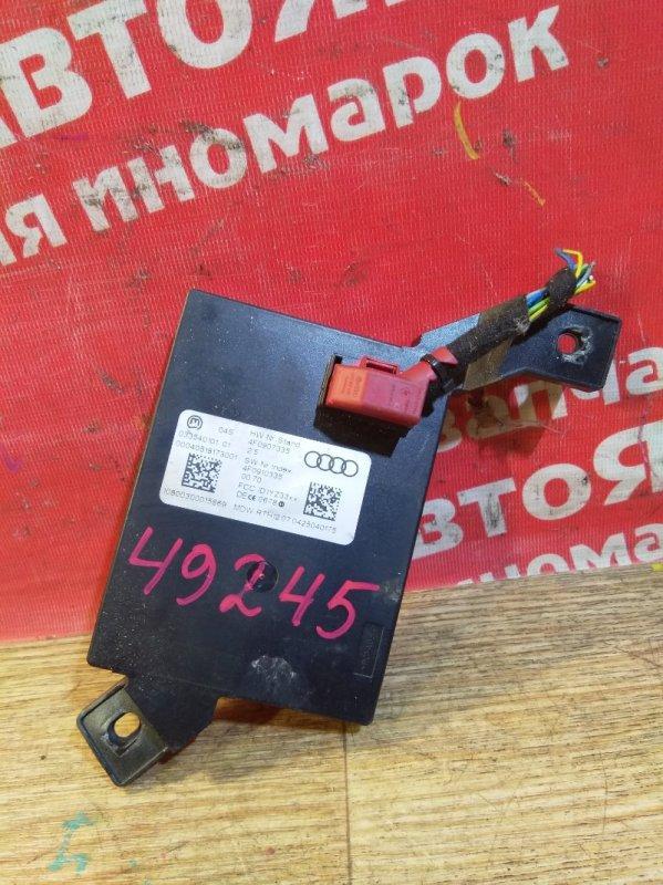 Блок управления Audi A6 4F2 AUK 2005 4f0907335, блок системы бесключевого доступа