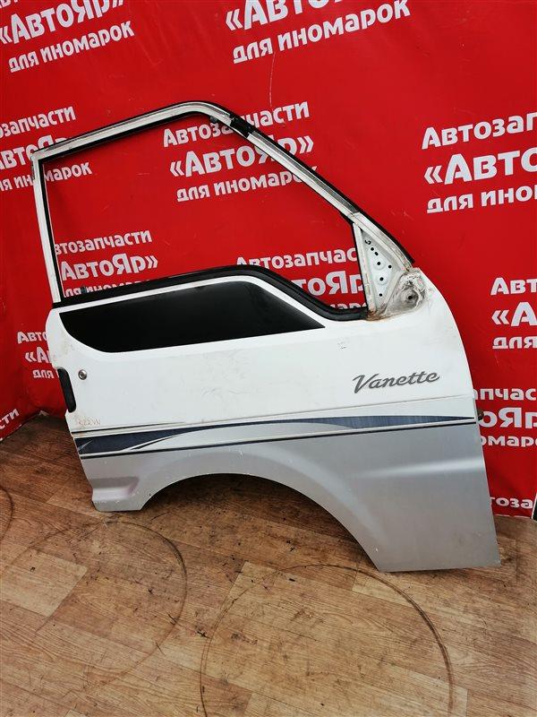 Стекло боковое Nissan Vanette SK22VN R2 09.2000 переднее правое