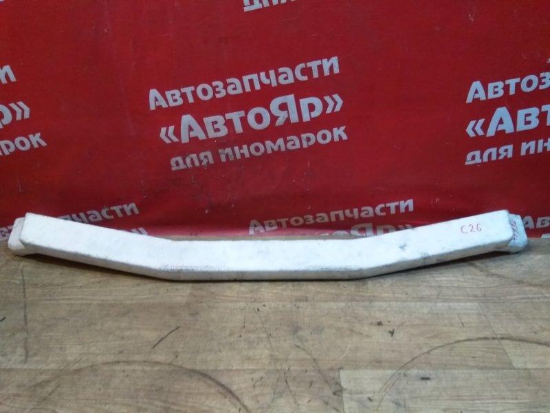 Усилитель бампера Nissan Serena C26 MR20DD 08.2011 передний 62090-1va0a, пенопласт