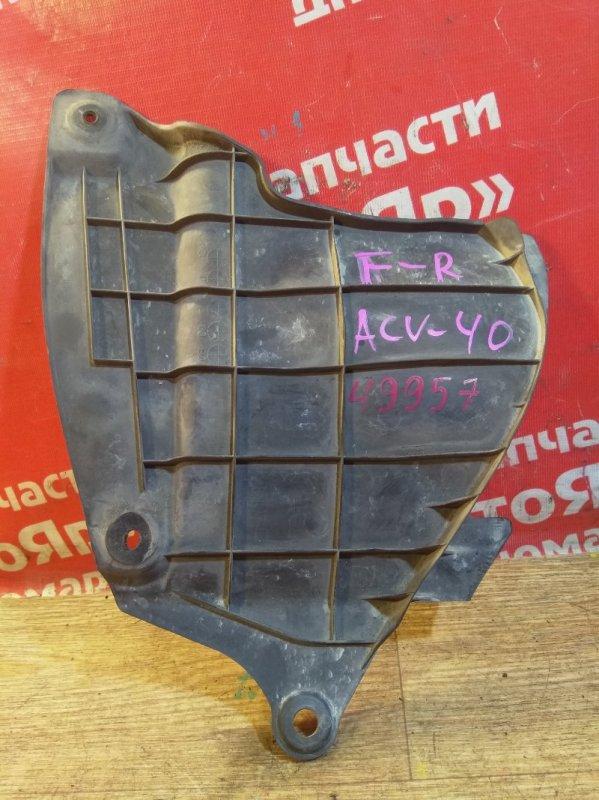 Защита двигателя Toyota Camry ACV40 2AZ-FE 08.2006 передняя правая 53736-33040