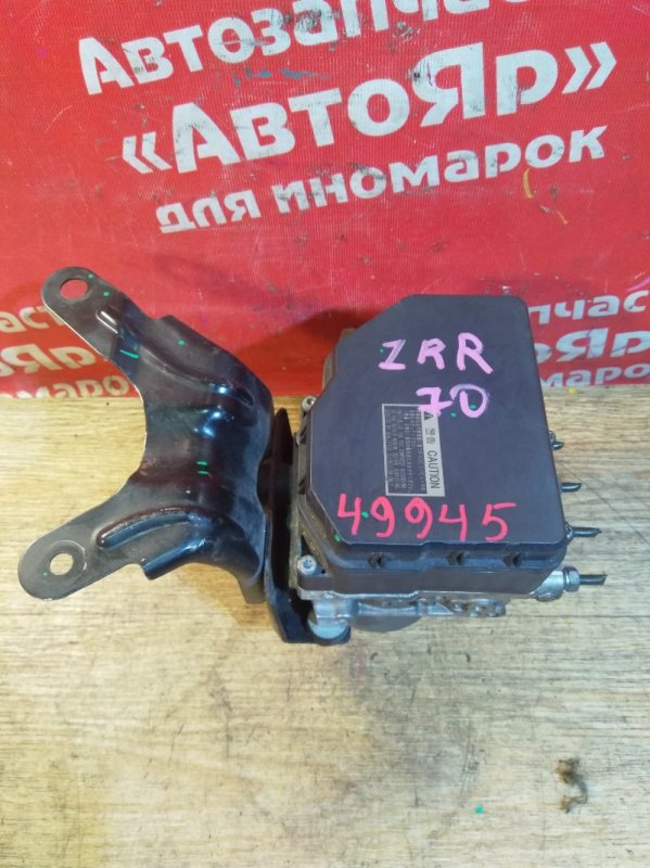 Блок abs Toyota Voxy ZRR70W 3ZR-FAE 08.2007 44050-28190