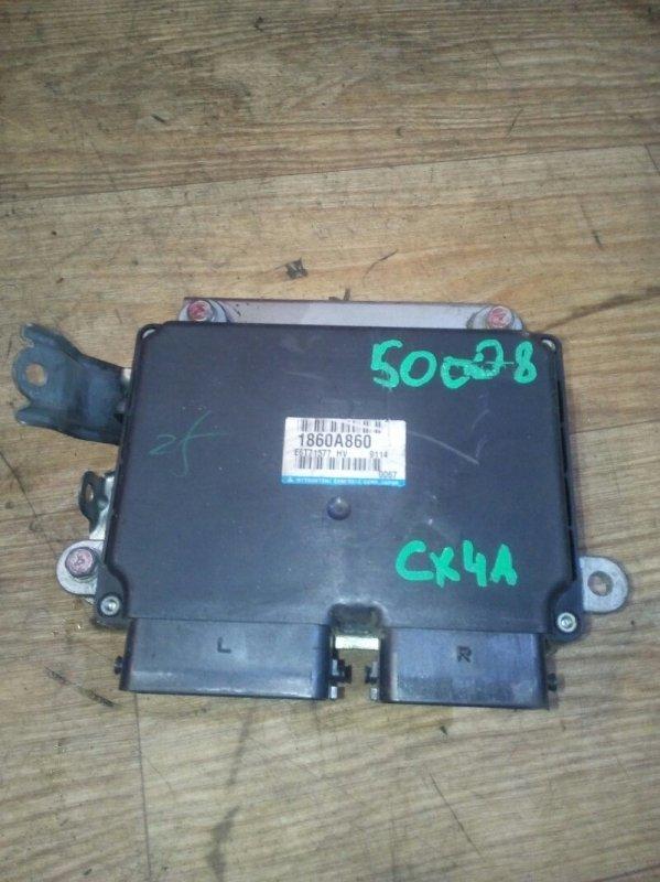 Блок управления efi Mitsubishi Lancer X CX4A 4B11 01.2009 1860A860