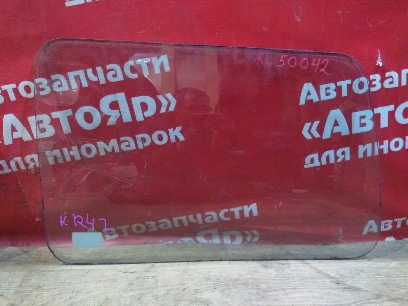Стекло собачника Toyota Liteace Noah KR42V 7K-E 01.2004 левое