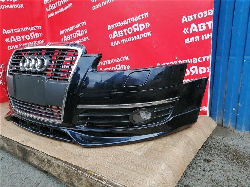 Форсунка омывателя Audi A6 4F2 AUK 2005 левая 4F0955101