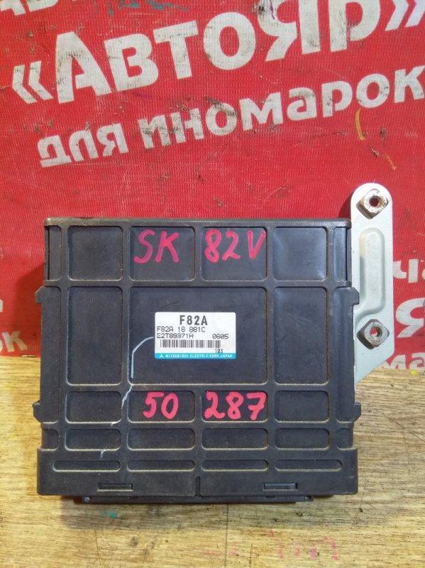 Блок управления efi Nissan Vanette SK82VN F8 06.2000 F82A18881C, E2T89371H, 2wd, МКПП