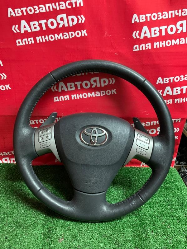 Airbag на руль Toyota Voxy ZRR70W 3ZR-FAE 08.2007 С зарядом, цена без руля.